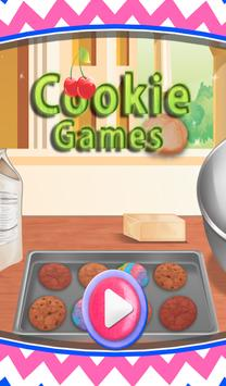 Cookies Games for girls poster