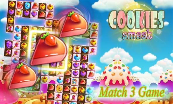 COOKIES SMASH poster
