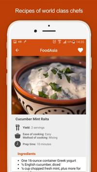 Asian food - Healthy recipes screenshot 1