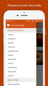 Asian food - Healthy recipes screenshot 2