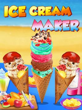 Snow Cone Maker - Summer dessert recipes apk screenshot