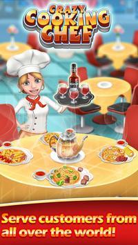 Crazy Cooking chef Cartaz