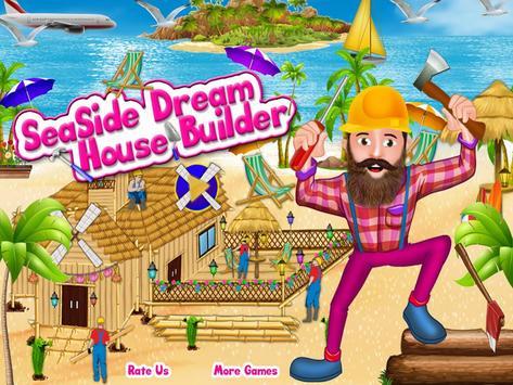Seaside Dream House Builder poster