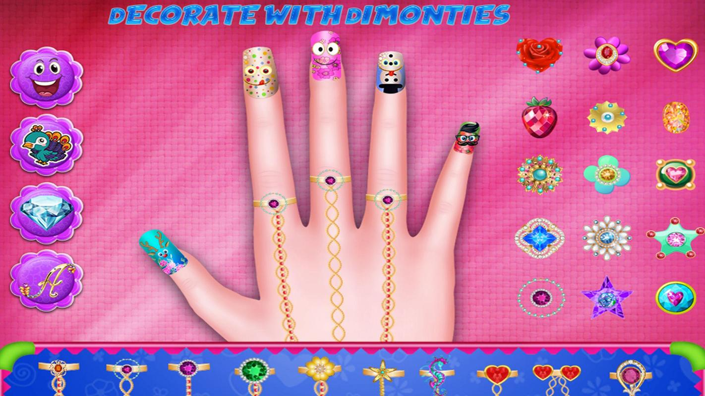 Nail Art Fashion Girls Nail Salon APK Download - Free Casual GAME ...