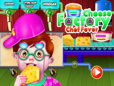 Cheese Factory  Chef Fever - Food Maker Mania poster