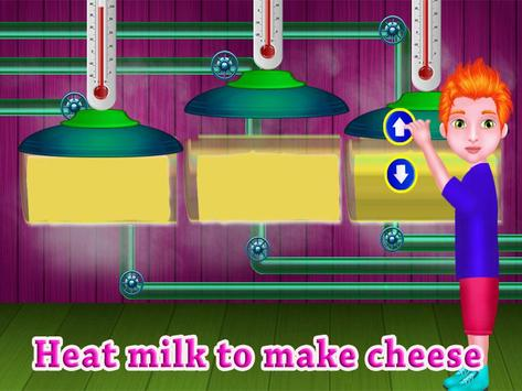 Cheese Factory  Chef Fever - Food Maker Mania screenshot 19