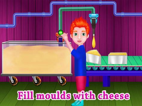 Cheese Factory  Chef Fever - Food Maker Mania screenshot 6