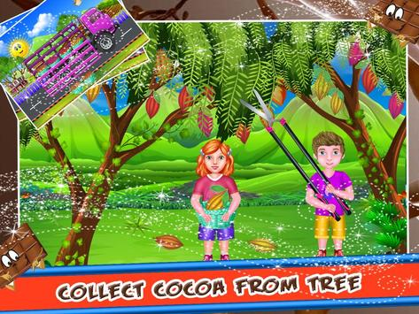 Chocolate Factory - Cooking Game for Kids poster