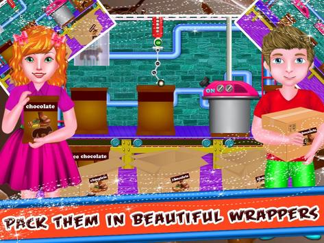 Chocolate Factory - Cooking Game for Kids screenshot 13