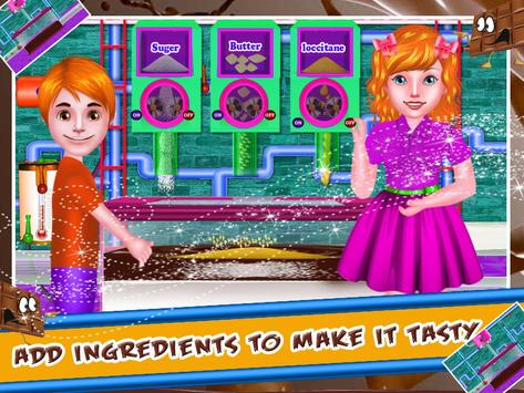 Chocolate Factory - Cooking Game for Kids screenshot 3