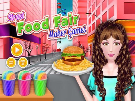 Street Food Fair - Maker Games poster