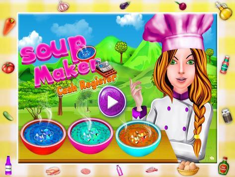 Soup Maker Cash Register poster