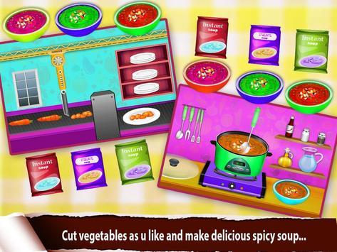 Soup Maker Cash Register apk screenshot