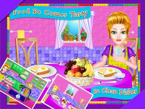 Dish Wash Kitchen Cleaning - Game for Girls screenshot 10