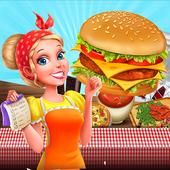 Cooking Fever Mama - Hamburger Mom Kitchen icon