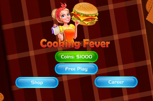 Cooking Fever Mama - Hamburger Mom Kitchen poster