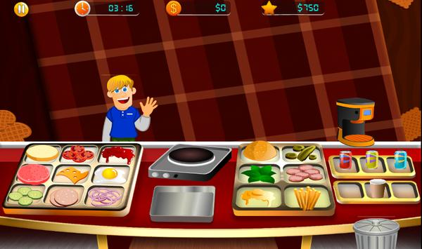 Cooking Fever Mama - Hamburger Mom Kitchen screenshot 2