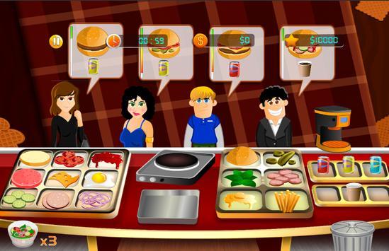 Cooking Fever Mama - Hamburger Mom Kitchen screenshot 4