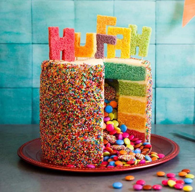 Cooking Rainbow Birthday Cake Screenshot 5
