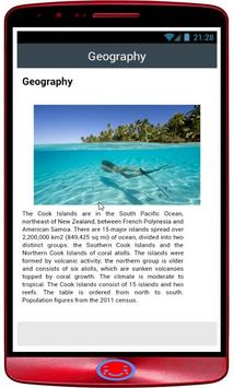 Cook Islands History apk screenshot