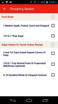 North Indian Recipes apk screenshot