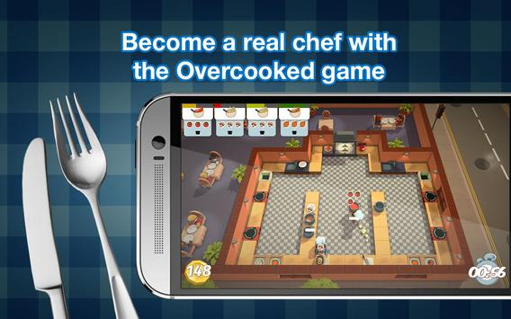 Overcooked game - Fever Kitchen poster