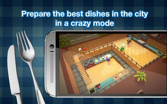 Overcooked game - Fever Kitchen screenshot 1