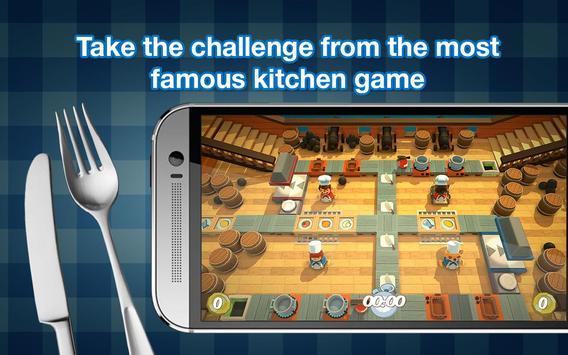Overcooked game - Fever Kitchen screenshot 2