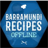 Barramundi Fish Recipes Offline icon