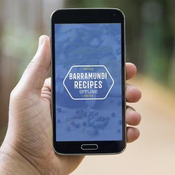 Barramundi Fish Recipes Offline poster