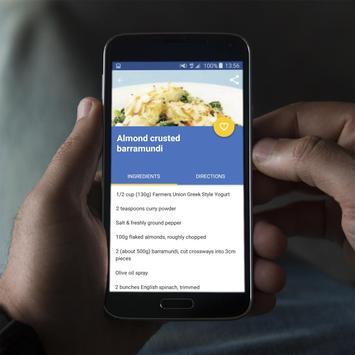 Barramundi Fish Recipes Offline apk screenshot