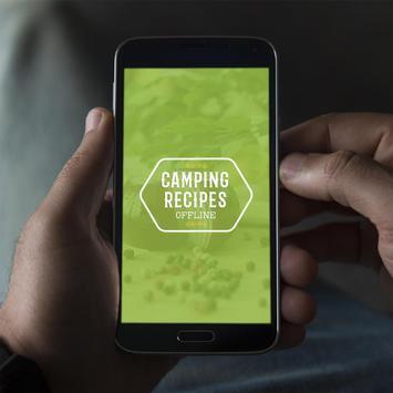 Camping Recipes Offline poster