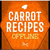 Carrot Recipes Offline icon