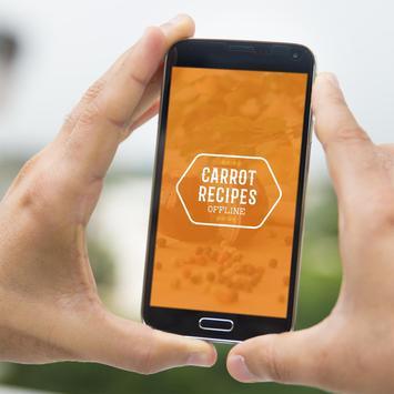 Carrot Recipes Offline poster