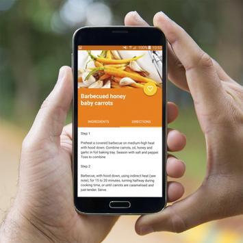 Carrot Recipes Offline apk screenshot