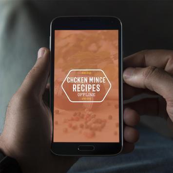 Chicken Mince Recipes Offline poster