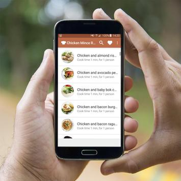 Chicken Mince Recipes Offline apk screenshot