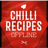 Chilli Recipes Offline icon