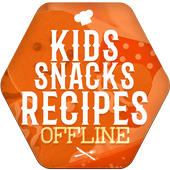 Kids Snacks Recipes Offline icon