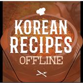 Korean Recipes Offline icon