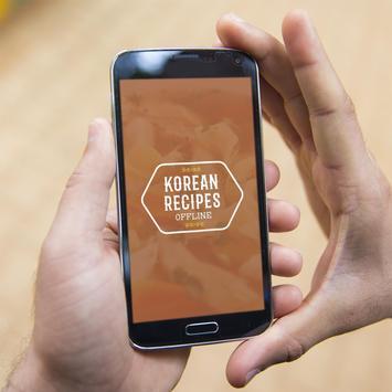 Korean Recipes Offline poster