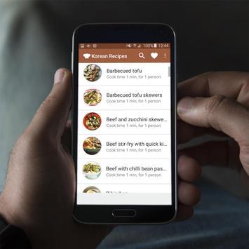 Korean Recipes Offline apk screenshot
