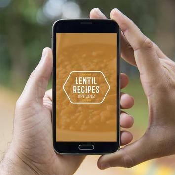 Lentil Recipes Offline poster