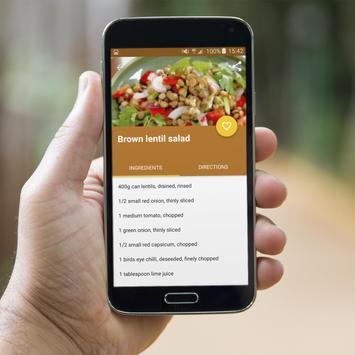 Lentil Recipes Offline apk screenshot