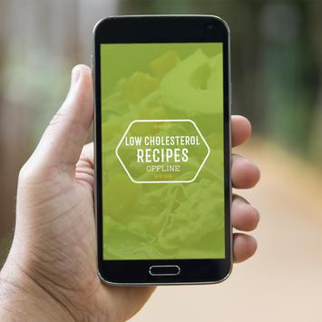 Low Cholesterol Recipes Offline poster