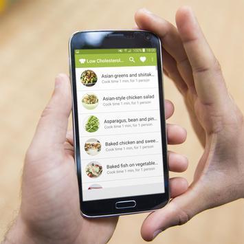 Low Cholesterol Recipes Offline apk screenshot
