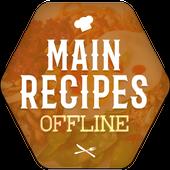 Main Recipes Offline icon