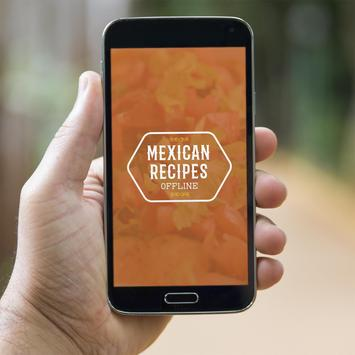 Mexican Recipes Offline poster