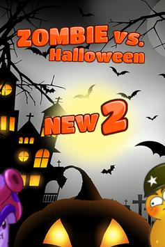 Zombie vs. Halloween 2: Plants poster