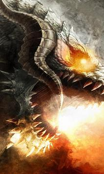 cool dragon wallpapers poster